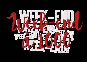 [Challenge] Weekend à 1000 – du 26 au 28 août2016