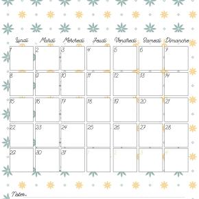 Calendrier 2017-2018 (gratuit, àimprimer)