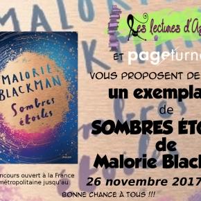 #concours# Sombres étoiles de Malorie Blackman RÉSULTAT!!!!
