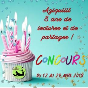 #concours : Aziquilit : 8 ans et toutes ses dents! : LESRESULTATS