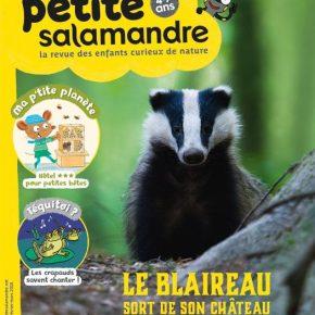 Petite Salamandre, la revue des enfants curieux de la nature 4-7ans