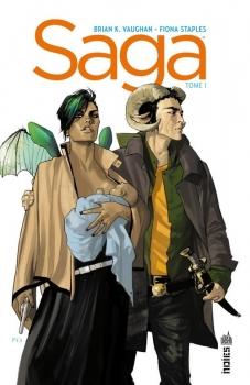 Saga (tomes 1 et 2) de Brian K. Vaughan et FionaStaples