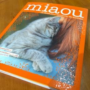 Miaou, la revue pour ronronner de bonheur : septembre-octobre-novembre 2018