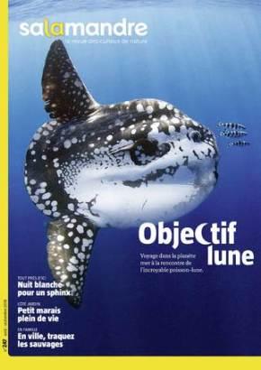 Salamandre, la revue des curieux de nature – août-septembre2018