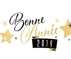 Bonne année 2019!!!!!