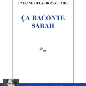 Ça raconte Sarah de PaulineDelabroy-Allard