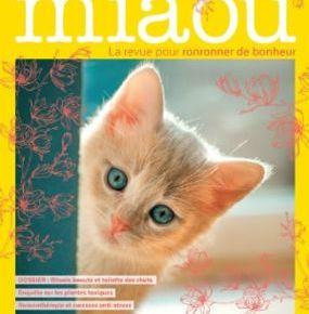 Miaou, la revue pour ronronner de bonheur : mai-juin-juillet 2019