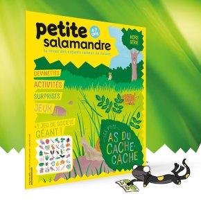 Petite Salamandre, 4 – 7 ans Hors Série n°1 : les p'tits as ducache-cache