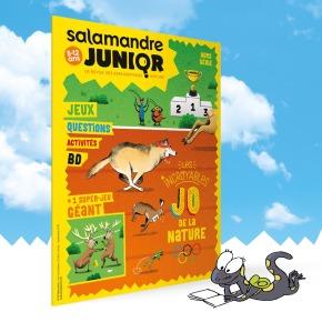 Salamandre junior, 8 – 12 ans Hors Série n°1 : Les Incroyables JO de lanature