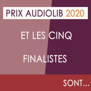 Prix Audiolib 2020 : à vous de voter!