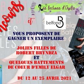 Concours 11 ans : les éditionsBelfond