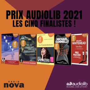 Prix Audiolib 2021 : à vous de voter!